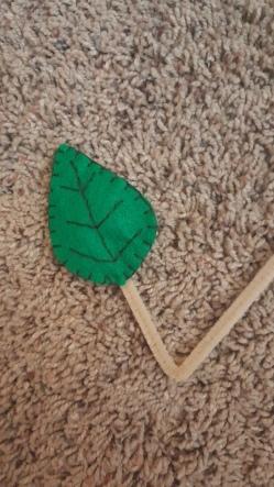 woodland creature leaf