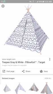 tipee for baby