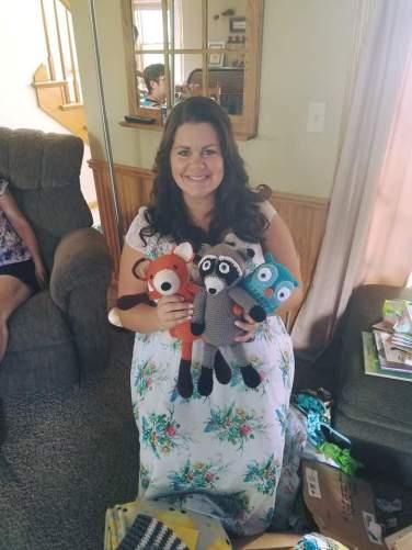 baby shower crochet